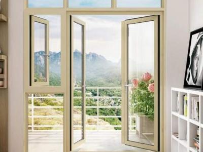 铝门窗型材出厂